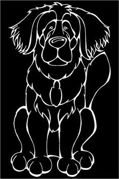 Leonberger Decal Dog