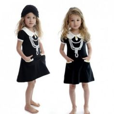 Rock Your Baby Pearl Necklace dress