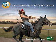 www.pegasebuzz.com/leblog | Horse in Advertising : PMU Pariez spOt 2012 - Publicis Conseil
