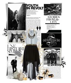 """OneRepublic ;D"" by lavender-and-lily ❤ liked on Polyvore featuring Calvin Klein, Une, Schmid, Hedi Slimane, Cheap Monday, Dorothy Perkins, BCBGMAXAZRIA, Ivanka Trump, Religion Clothing and Blue Nile"