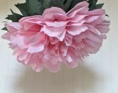 Lucky Peony 5 Giant Tissue Paper Pom Flowers, peonies, hang/wall flower, wedding, shower, party, nursery decor, Party Blooms by Whimsy Pie. $32.50, via Etsy.