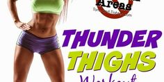 "Problem Areas Series – How to get rid of ""Thunder Thighs"" – At home workout for legs - Tone and Tighten"
