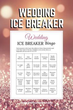 Bridal Shower Ice Breaker Game Rose Gold Wedding Human Bingo image 3 Bingo Cards, Printable Cards, Party Printables, Ice Breaker Bingo, Human Bingo, Wedding Party Games, Rose Gold Theme, Ice Breakers, Secret Santa Gifts