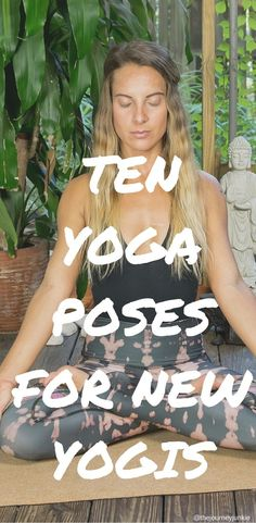 10 Yoga Poses for Beginners - Pin now, learn basic yoga postures later!