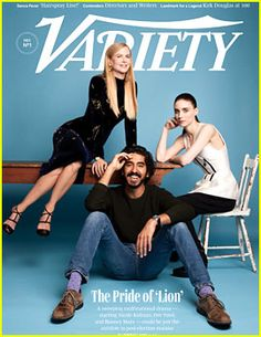 Rooney Mara Would Rather Commit This Crime Than Do Press for a Movie The cast of Lion - Nicole Kidman, Rooney Mara, and Dev Patel - take the cover of Variety magazine's new issue. Here's what the cast had to share with the mag:…