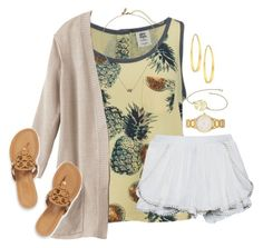 """You are the pineapple of my eye"" by kaley-ii ❤ liked on Polyvore"