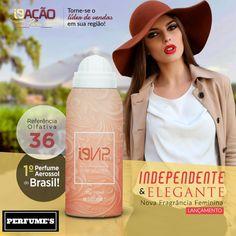 ✨✨ Lançamento → O novo i9 Vip é inspirado no Coco Mademoiselle da Chanel. Um perfume sofisticado com fragrância chipre floral, que representa mulheres independentes e elegantes.  💻 Site: www.perfumesi9.com.br