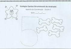 Apostila com atividades de coordenação motora ~ ESPAÇO EDUCAR