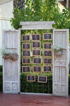 Inspiración para meseros originales de boda, decoración para bodas ++ CustomMade ++