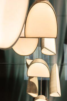 季华·正荣府|空间|商业空间设计|VBD设计集团 - 原创作品 - 站酷 (ZCOOL) Pendant Chandelier, Chandelier Lighting, Ceiling Lamp, Ceiling Lights, Bedroom Furniture Design, Light Installation, Plant Decor, Hanging Lights, Light Decorations