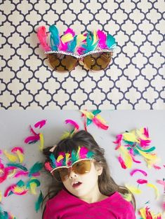 ~Ruffles And Stuff~: Paige Crafts Four: Embellished Glasses for New Year's...or whenever!