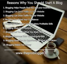Ever thought about Reasons Why You Should Start A Blog or maybe never found enough reasons to start a blog, is you think that starting a website is for experienced webmasters and writers only? I'm living proof, it's not. Blogging changed my life for the better. Blogging can be incredibly valuable to a variety of people and for a variety of reasons. People are starting blogs for various purposes. Each and every blogger defines differently, how blogging is valuable to them. And each and every…