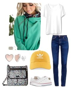 Saturday matinee by bethcp14 on Polyvore featuring polyvore, fashion, style, AG Adriano Goldschmied, Converse,  Vera Bradley, adidas and clothing  #mindymaesmarket #dreamcloset