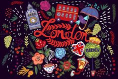 Check out London by marushabelle on Creative Market