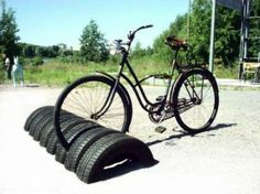 reciclagem-de-pneus-guarda-bicicleta