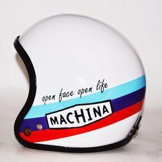 RocketGarage Cafe Racer: Open Face Open Life