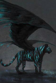 Serene by JadeMerien on DeviantArt Mystical Animals, Mythical Creatures Art, Magical Creatures, Beautiful Creatures, Animals Beautiful, Pet Anime, Anime Animals, Cute Animals, Cute Animal Drawings