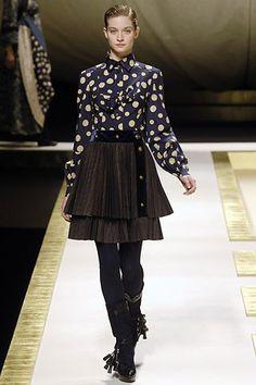 Kenzo Fall 2006 Ready-to-Wear Fashion Show - Lesly Masson