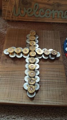 Shotgun  shells  cross
