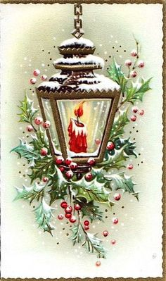 Billedresultat for vintage christmas pictures Vintage Christmas Images, Old Christmas, Christmas Scenes, Christmas Candles, Victorian Christmas, Retro Christmas, Vintage Holiday, Christmas Pictures, Christmas Greetings