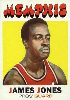 Do not jive James Jones. Pro Basketball, Basketball Leagues, Basketball Cards, James Jones, Basketball Association, Trading Card Database, Major League, Vintage Cards, Old Pictures