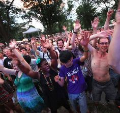 """Comfest """"Party with a Purpose"""" in Goodale Park"""