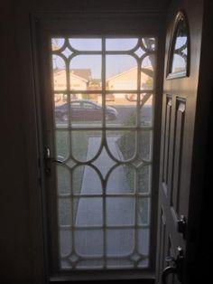 Cabo Bella 32 in. x 80 in. Copper Security Screen Door ...