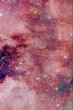 Galaxy pink wallpaper stars