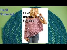 Capa abierta a crochet red y pilares iris - YouTube Hairpin Lace, Crochet Cape, Shawl, Barbie, Knitting, Iris, Tutorials, Watch, Youtube