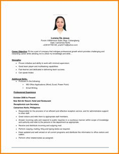 Example Of Resume Objective Resume Templates Resume Examples Objectives, Gallery Example Of Resume Objective Resume Templates Resume Examples Objectives with total of image about 16472 at Best Resume and CV Inspiration Career Objective Examples, Good Objective For Resume, Basic Resume Examples, Resume Objective Statement, Work Objectives, Career Objectives For Resume, Resume Career Objective, Resume Writing, Ideas
