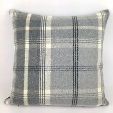 "Luxury Highland Mist Tartan Check Cushion Covers, 16"" x 16"", 7 Colours !!!"