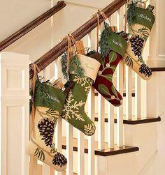 escaleras navideñas1