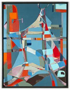 Brad Eberhard  The Big A2012Oil on masonite24 x 18 x 1/4 inches