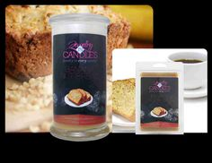 BANANA NUT BREAD - The mouth watering aroma of oven fresh banana nut bread, just like Mom used to make! Combining walnuts, ripe banana, vanilla, and a touch of spice; this scent is sure to spark your appetite!  CANDLE  https://www.jewelryincandles.com/store/glowtoglitter/p/76:c:97/enticing-desserts/banana-nut-bread-candle/  TARTS  https://www.jewelryincandles.com/store/glowtoglitter/p/84:c:97/enticing-desserts/banana-nut-bread-tarts/