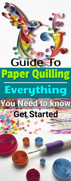 Paper quilling for beginners Instructions for quilling paperInstructions for quilling paper Everything you need to know to get started home diy homeideas papercraftQuilling Glue Basics - 5 Helpful Tips Tutorial. Make your quilling glue invisible Quilling Instructions, Paper Quilling Tutorial, Paper Quilling Flowers, Paper Quilling Cards, Paper Quilling Jewelry, Paper Quilling Patterns, Quilled Paper Art, Quilled Roses, Diy Quilling Crafts