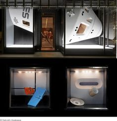 Hermes window displays are always great but really like this 'Space Module' by Florian Claar