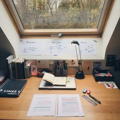 Quick Tips to Create a Productive Study Space - College Stud.- Quick Tips to Create a Productive Study Space – College Study Smarts study - Study Room Decor, Study Rooms, Study Desk, Study Space, Desk Space, Study Office, Study Organization, Study Areas, Study Hard