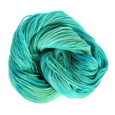 Hey, I found this really awesome Etsy listing at https://www.etsy.com/listing/225155109/sock-yarn-hand-dyed-fingering-aqua-blue