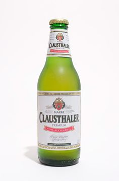 Clausthaler.   I'm not really into non alcoholic beer, but after a couple of glasses of wine and knowing you will be driving kids around. . . It 's not bad.  The old German restaurant used to carry it, had some tonight with pizza.