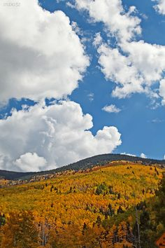 Santa Fe, New Mexico in fall