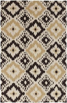 Frontier Collection features a series of flat-weave reversible designs with tribal and casual themes. Hand woven in India, these rugs are produced from the finest wool with unique patterns designed to enrich any room | domino.com