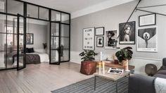 Een compacte studio van 52 vierkante meter met te gek interieur