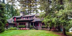 J.P. Morgan's Stunning 120-Year-Old Adirondacks Home Is on the Market  - CountryLiving.com