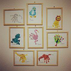 手形アート