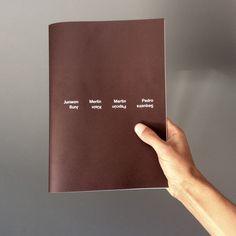 Catalog of exhibition (with Junwon Jung + Merlin Klein + Martin Papcún) @ Kunstarkaden galerie, Munich DE  March 2015