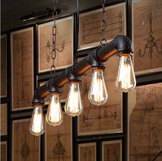 metal conduit lighting - Google Search