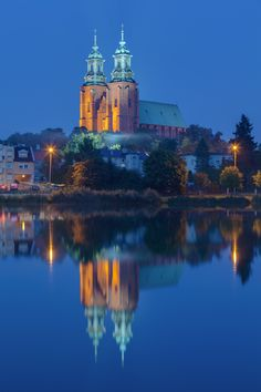 Gniezno Cathedral, where 6 kings of Poland were crowned between the 11th and 14th centuries, Gniezno, first capital of Poland.
