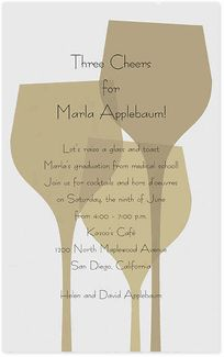Wine Invitations | Wine and Cheese Party Invitations | Wine Tasting Invitations - Invitation Box