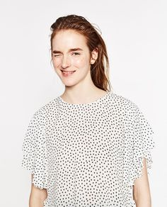 Image 4 of STAR PRINT TOP from Zara