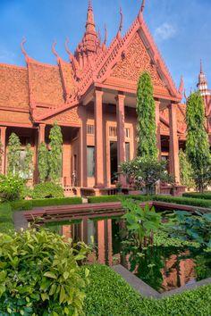 National Museum, Phnom Penh, South Cambodia